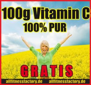 Vitamin C Pulver kostenlos