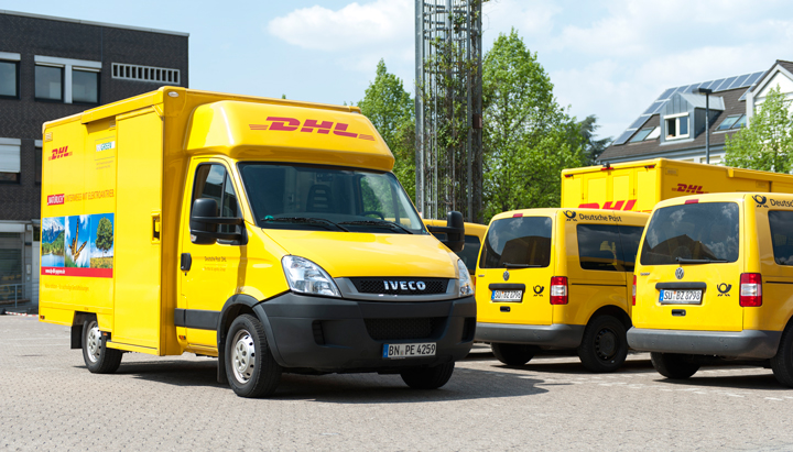 DHL Paketzusteller Video