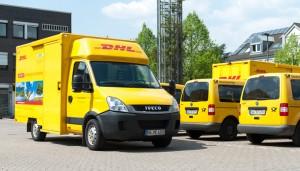 DHL-FAhrzeuge