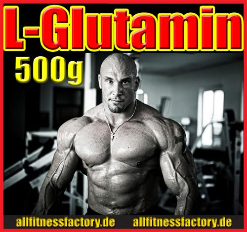 L-Glutamin 100% rein Laborgetestet