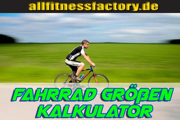 Fahrrad Größen Kalkulator