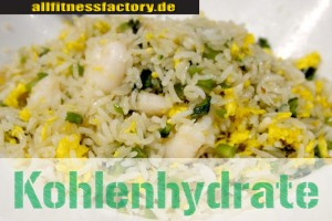 Kohlenhydrate-Reis