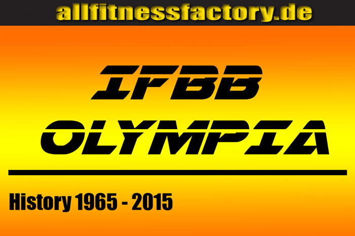 Mr. Olympia History top