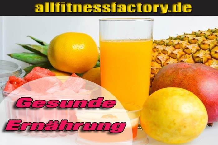 Gesunde Ernährung JETZT
