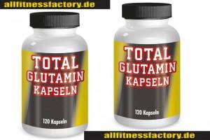 Glutamin-Kapseln-Dose