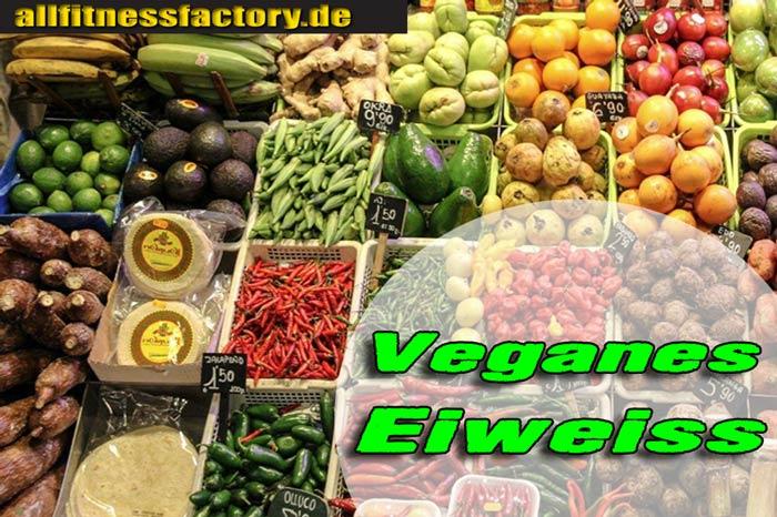 Pflanzliches Eiweiß vegan