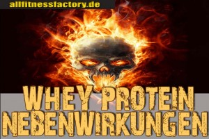 Whey-Protein-Nebenwirkungen