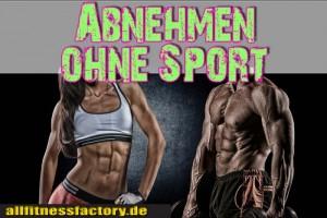 Abnehmen-ohne-Sport