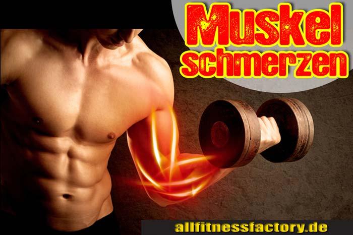 Muskelschmerzen