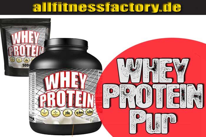 Unterschied zwischen Whey und Protein