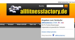 allfitnessfactory ebay