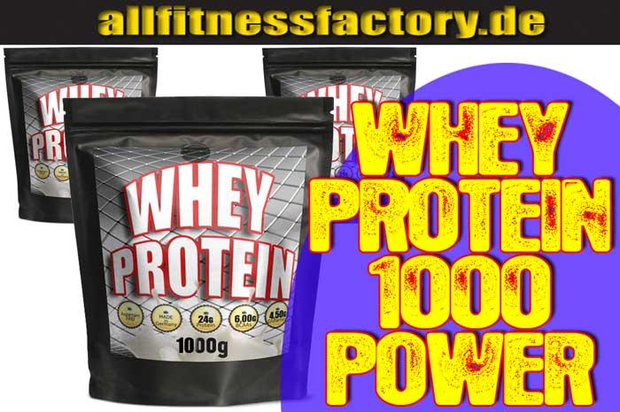 Warum Whey Protein