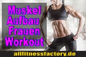 Muskelaufbau-Frauen