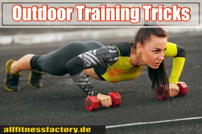 Outdoor Training Übungen