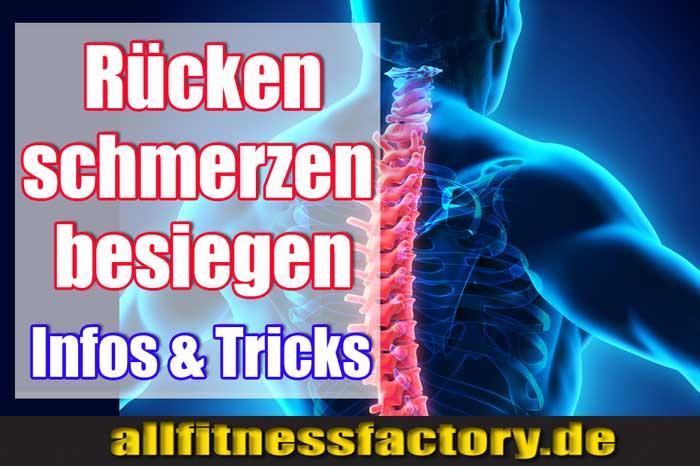 Rückenschmerzen nach Training