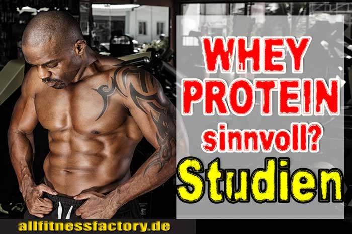 Whey Protein sinnvoll