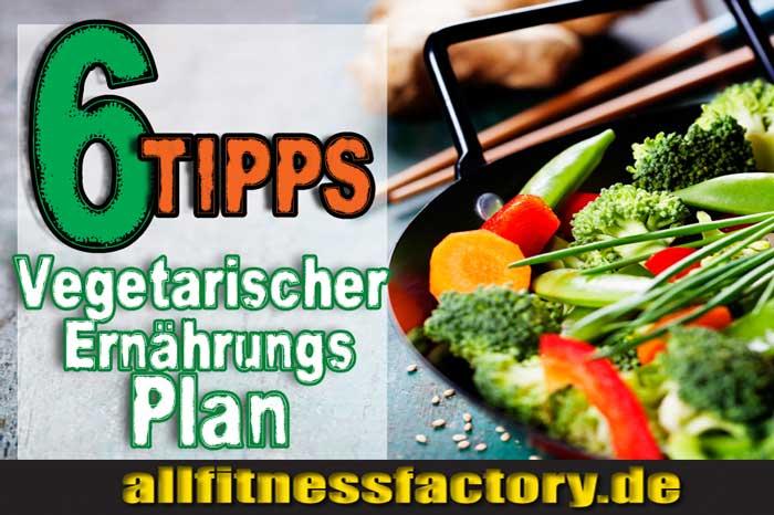 Vegetarischer Ernährungsplan Muskelaufbau