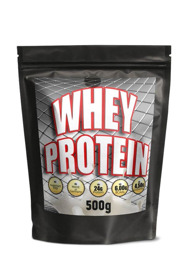 WHEY Protein 500g, 24g Protein pro Portion 31g,  Vanille