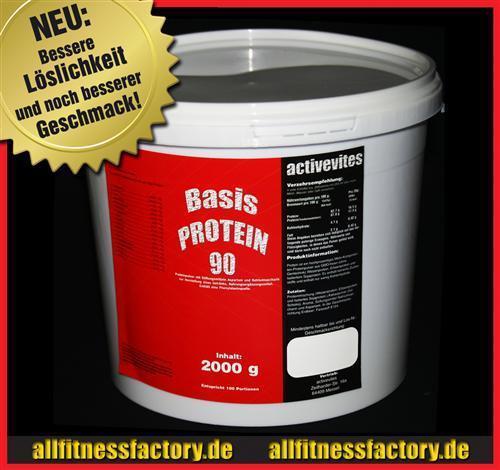 Protein 90 2,0kg Eiweiß Aminosäuren Muskelaufbau 2000gV