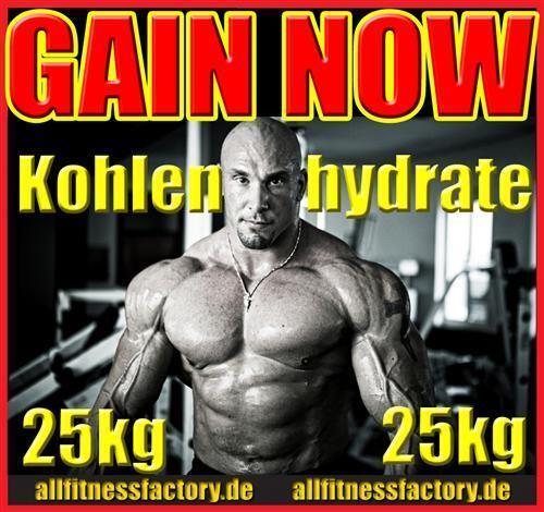 GAINER 25kg Kohlenhydrate Maltodextrin Muskelaufbau WOW