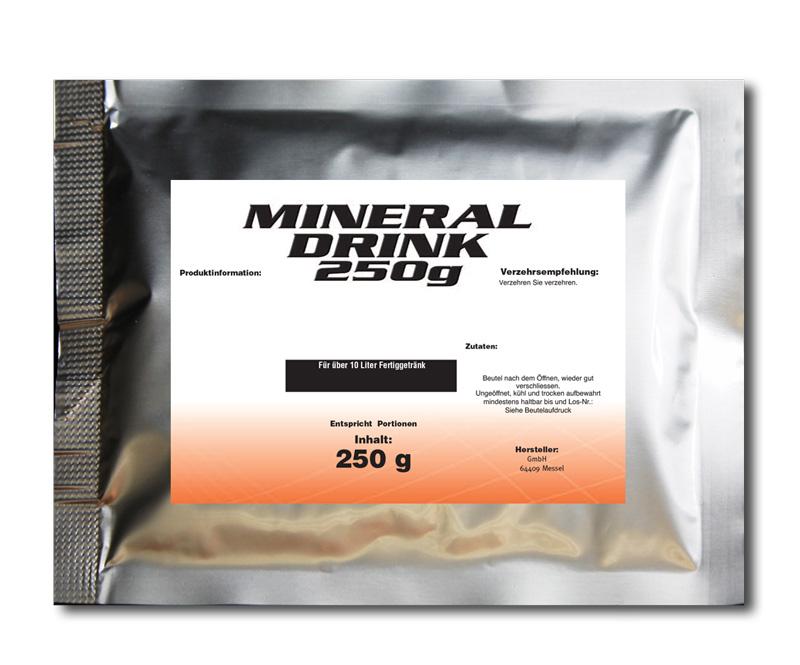 Isotonisches Mineraldrinkpulver 250g Orange TOPPREIS nur kurze Zeit