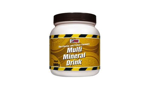 Supra Multi-Mineraldrink 500g Blutorange Metabolic Nutrition