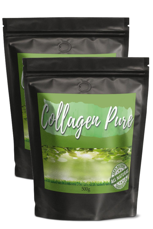 26€/Kg 2x Kollagen Hydrolysat Pulver 500g Collagen Pure Gelenke Nägel Anti Aging