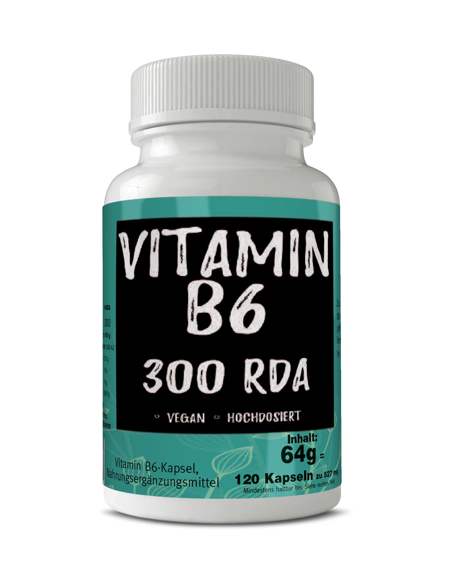 Vitamin B6 hochdosiert vegan Made in Germany versandfrei Auswahlgröße