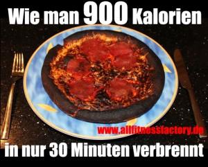 900 Kalorien verbrennen JETZT