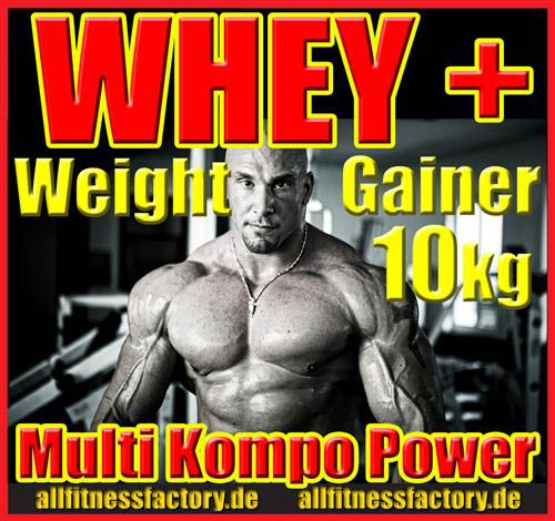 Whey + Weight Gainer
