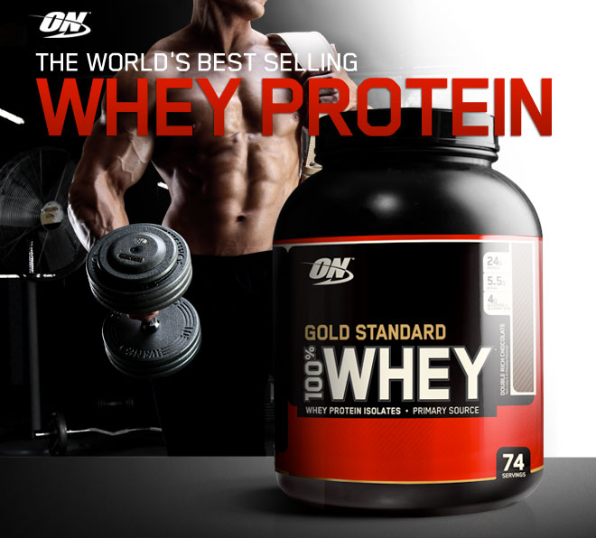 Whey Protein Optimum Nutrition Standard Gold