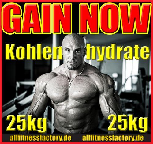 25kg GAINER Kohlenhydrate