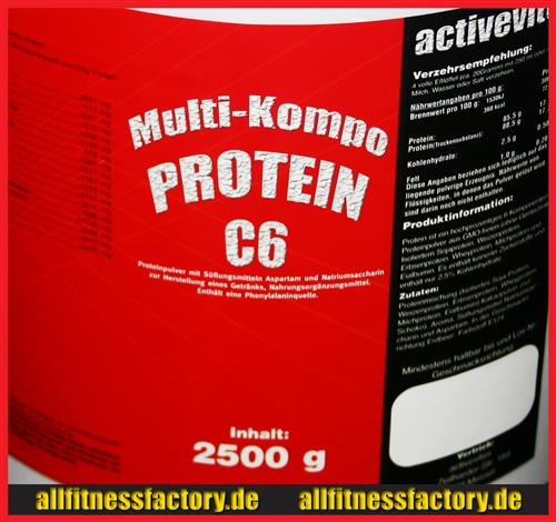 allfitnessfactory.de Protein 90 C6 Advent Aktion