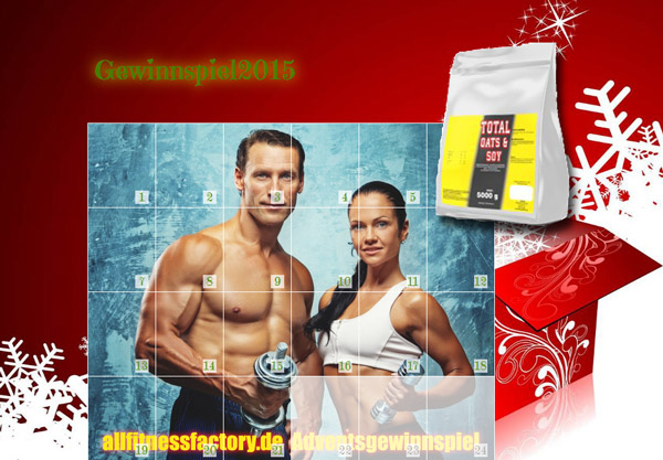 Adventskalender allfitnessfactory.de
