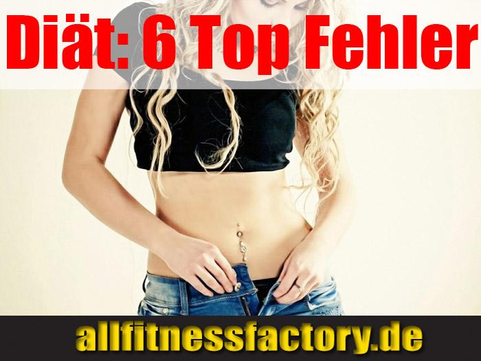 Diät 6 Top Fehler
