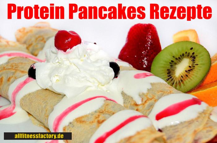 Protein Pancakes Rezept