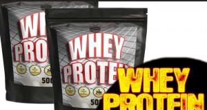 Whey Protein mit Wasser