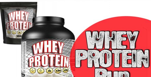 Muskelaufbau Whey Protein