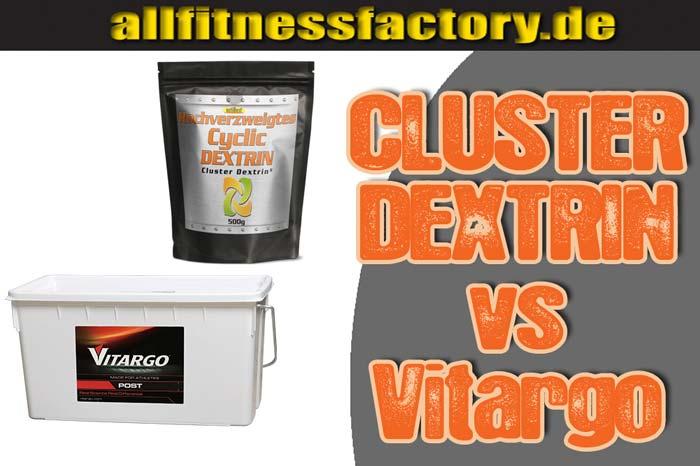 Cluster Dextrin vs Vitargo