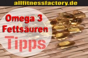 Omega 3 Fettsäuren WOW