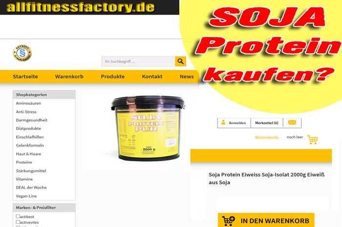 Sojaprotein kaufen