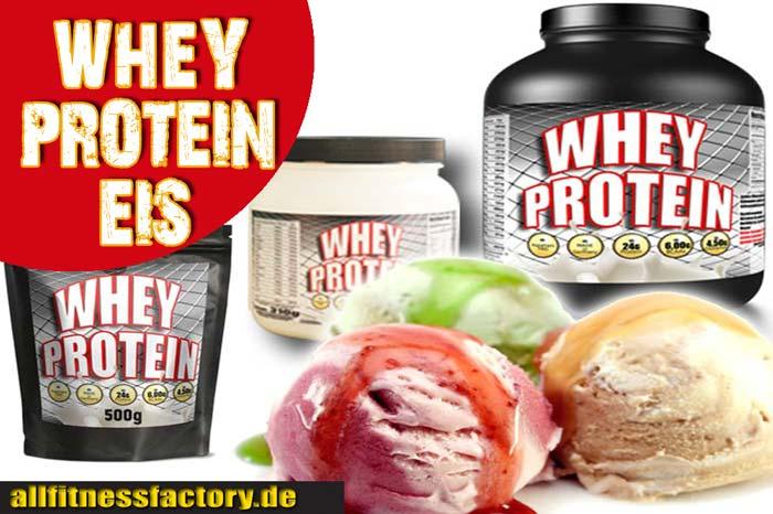 Whey Protein Eis