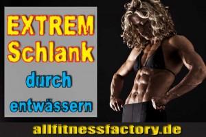 Entwässern Bodybuilding
