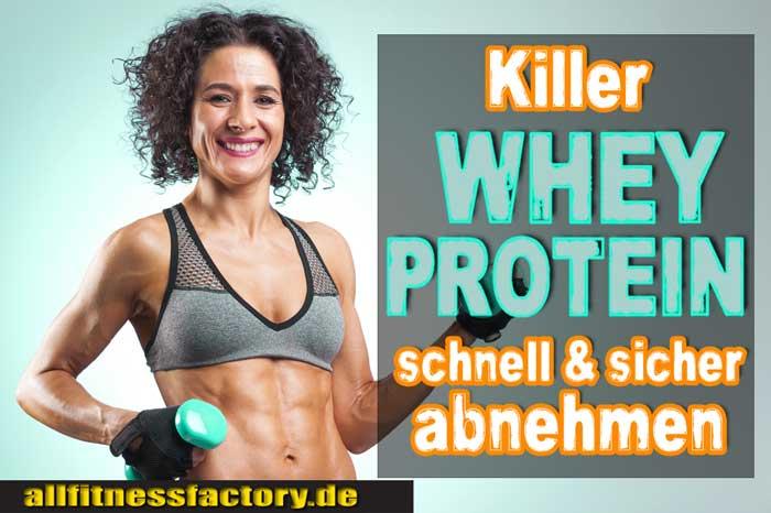 Whey Protein abnehmen