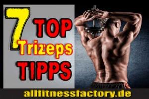 Trizeps Übungen Kurzhantel