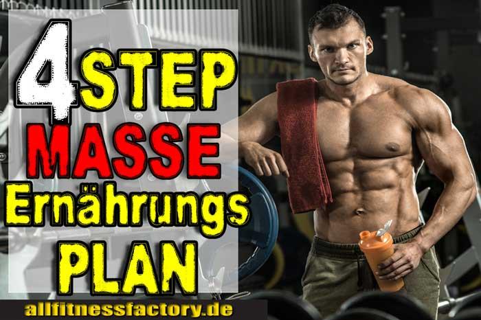 Masseaufbau Ernährungsplan