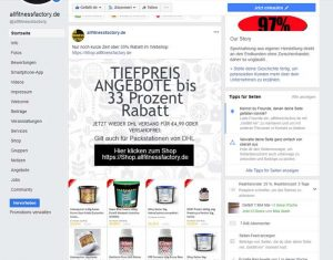 Facebook aktion